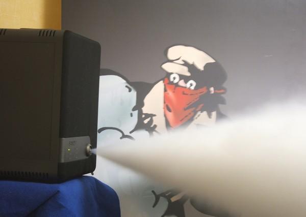 *Un générateur de brouillard*